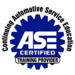 ASE Certified Training Provider Badge